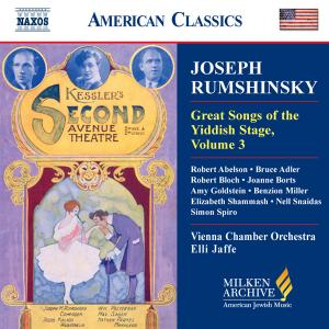 Great Songs of the Yiddish Stage, Volume 3