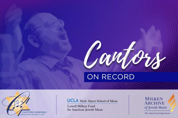 Cantors on Record Guide