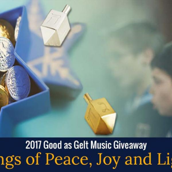 Giving Away Songs of Peace, Joy and Light
