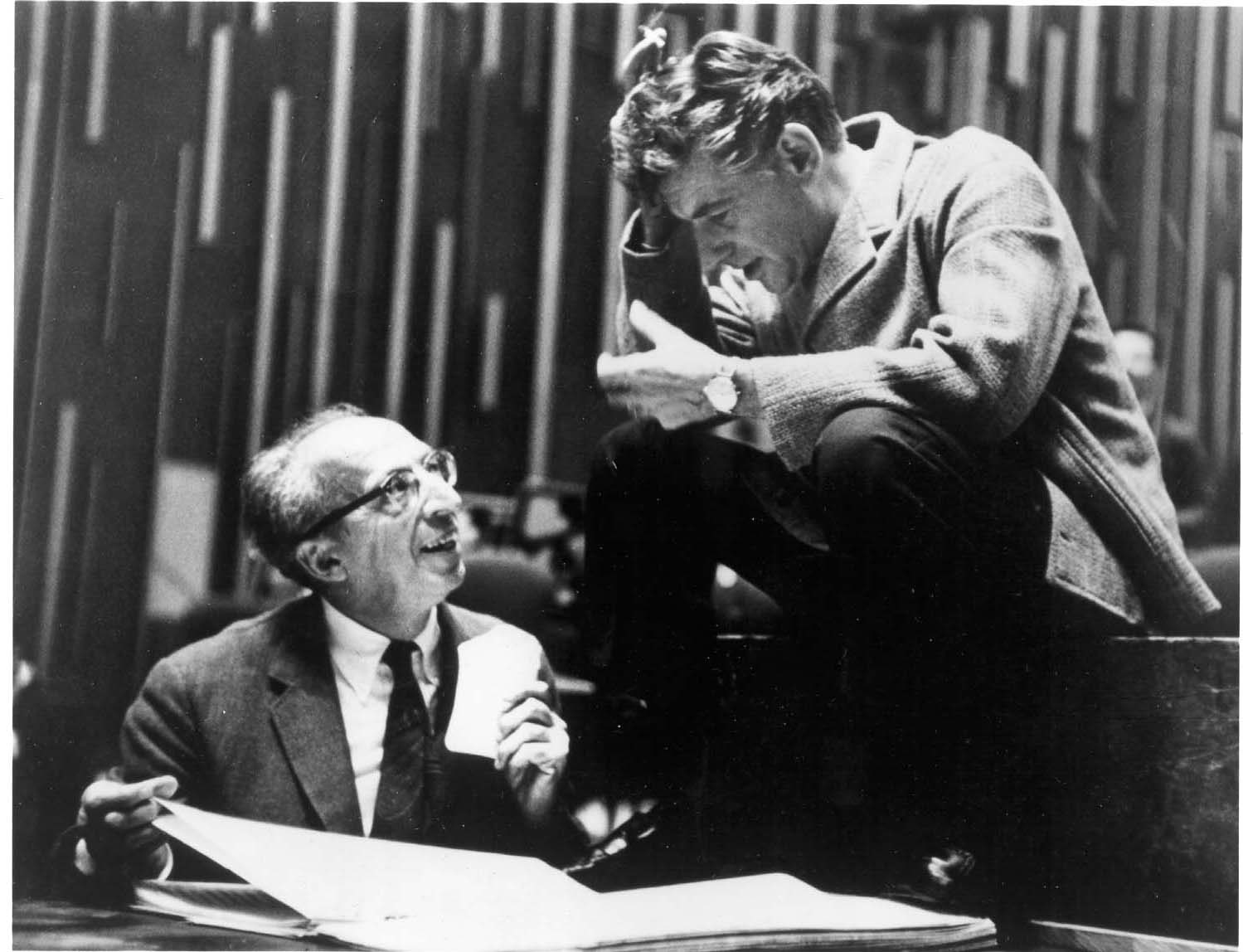 the life and work of leonard bernstein So it may seem perverse to describe leonard bernstein as an  elected bernstein their life president and  his need to create work of significance was.