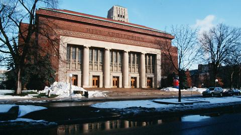 Hill Auditorium at the University of Michigan