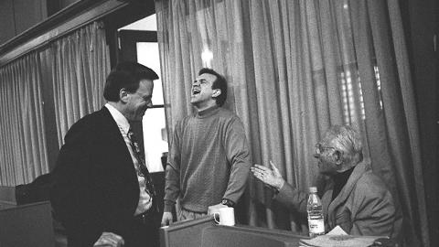 Lowell Milken, Robert Brubaker & Herman Berlinski
