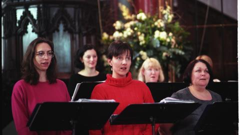 Members of the BBC Singers