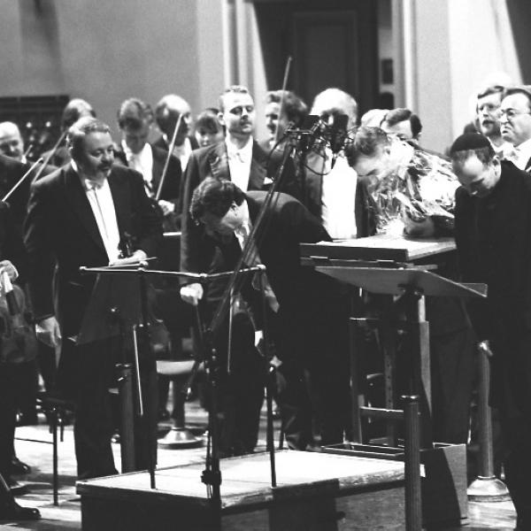 Gerard Schwarz, Yaron Windmueller & Members of the Czech Philharmonic Orchestra