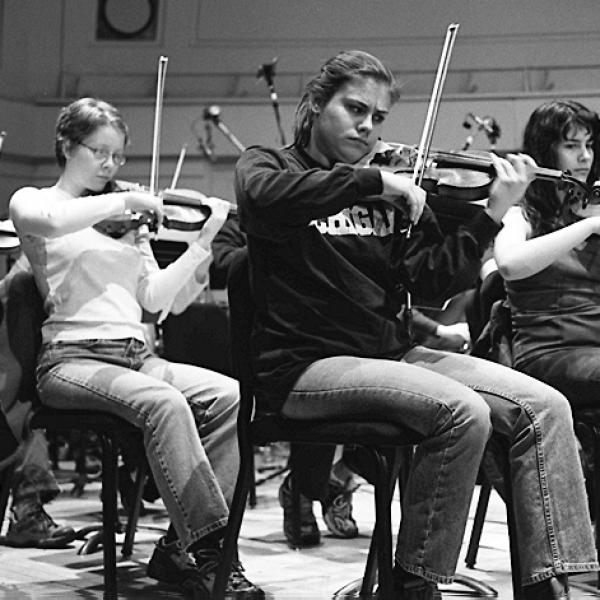 Members of the University of Michigan Symphony Orchestra