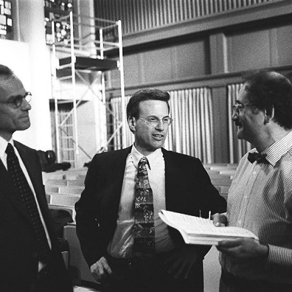 Richard Sandler, Lowell Milken & Neil Levin