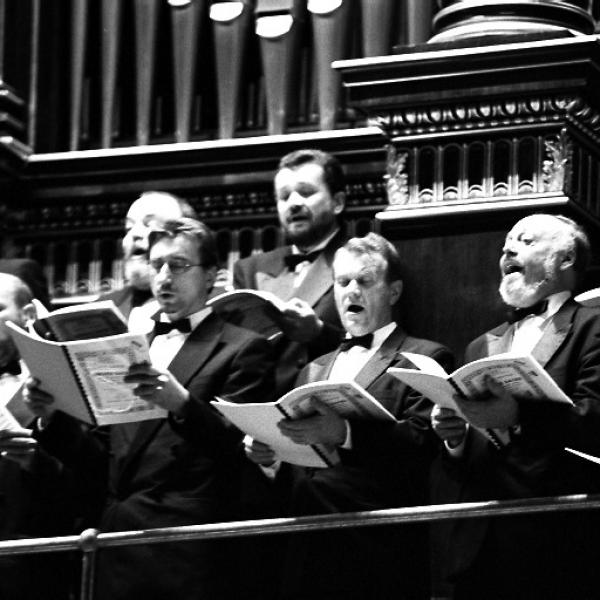 Members of the Prague Philharmonic Chorus