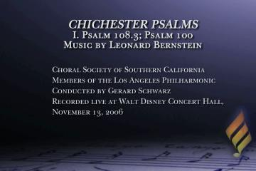Chichester Psalms: Live with Members of the LA Philharmonic